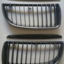 Grelhas Frontais Bmw Serie 3 - E90 ou E91 - 1ª Fase - Pintura Carbono