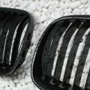 Grelhas Frontais Bmw Serie 3 - E92 E93 - 2ª Fase Lci - Pintura Carbono