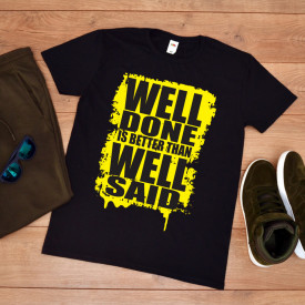 "Tricou Barbat ""Well done"""