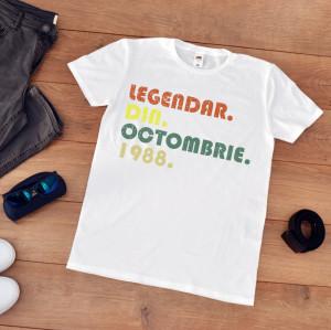 tricou personalizat aniversare barbati