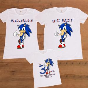 "Set aniversar personalizat ""Sonic"""