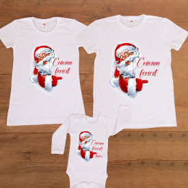 "Set personalizat Craciun ""Claus"""