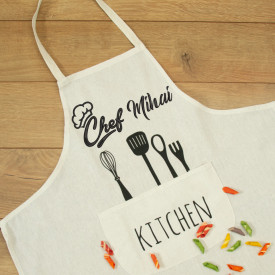 "Sort personalizat brodat ""Chef"""