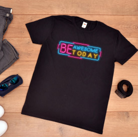 "Tricou Barbat ""Be awesome"""
