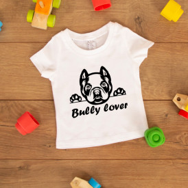 "Tricou copil ""Bully lover"""