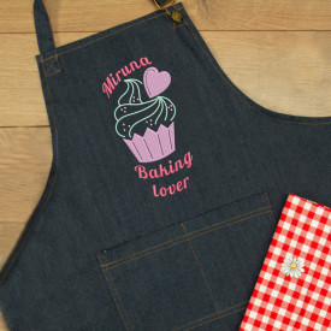 "Sort personalizat brodat ""Baking lover"""