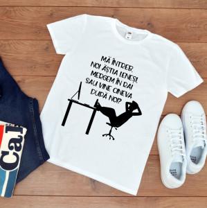 tricou personalizat pentru lenesi