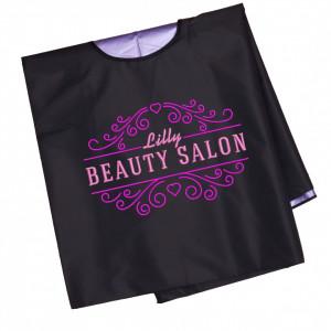"""Pelerina personalizata pentru tuns """"Beauty salon"""""""