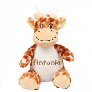 "Plus personalizat brodat ""Girafa"""