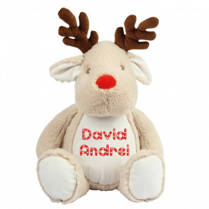"Plus personalizat brodat ""Rudolf"""