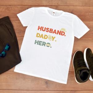 tricou personalizat aniversare tata