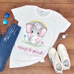 "Tricou personalizat ""Mama de poveste"""