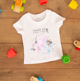 "Tricou copil ""Bunny hunt"""