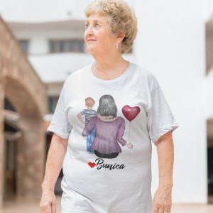 """Tricou personalizat """"Bunica cu baiat"""""""