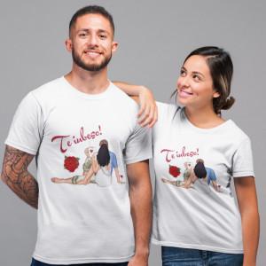 """Set tricouri personalizate cuplu """"Impreuna"""""""
