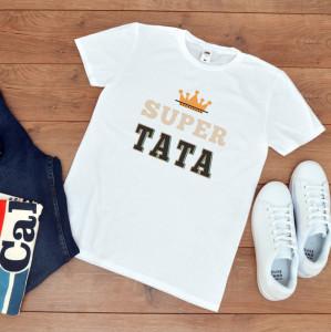 """Tricou personalizat """"Super tata"""""""