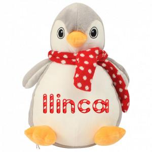 """Plus personalizat brodat """"Pinguin"""""""
