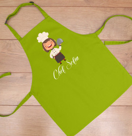 "Sort copil personalizat ""Mini chef"""