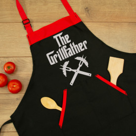 "Sort personalizat brodat ""The grillfather"""