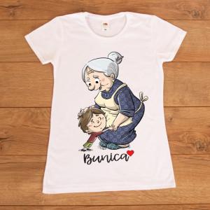 """Tricou personalizat """"Bunica cu nepotul"""""""