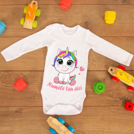 "Body personalizat ""Sweet unicorn"""