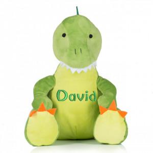 "Plus personalizat brodat ""Dinozaur"""