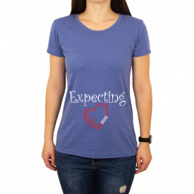 "Tricou Femeie ""Expecting"""