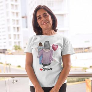 """Tricou personalizat """"Bunica cu fata"""""""