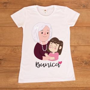 """Tricou personalizat """"Bunica cu nepoata"""""""