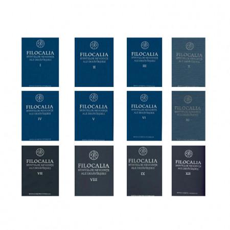 Pachet promotional 12 volume - Filocalia - seria integrala, editura Humanitas