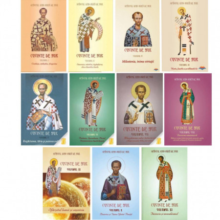 Pachet promotional: Cuvinte de aur - Sfantul Ioan Gura de Aur - 11 volume