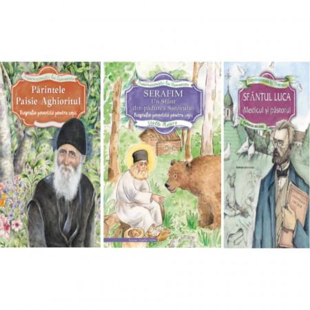 Pachet: Vieti de sfinti povestite pentru copii
