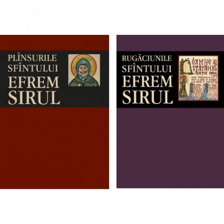 Pachet: Rugaciunile si plansurile Sfantului Efrem Sirul