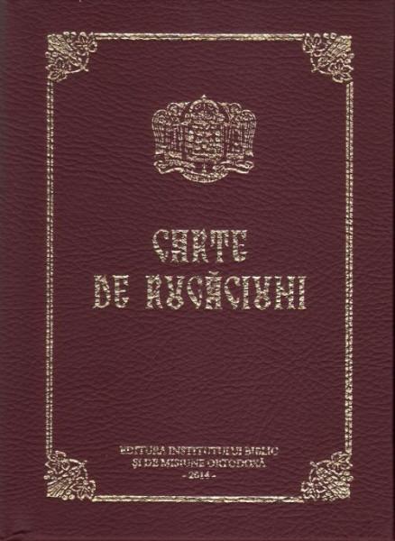 CARTE DE RUGĂCIUNI (CARTONATĂ, SCRIS NORMAL)
