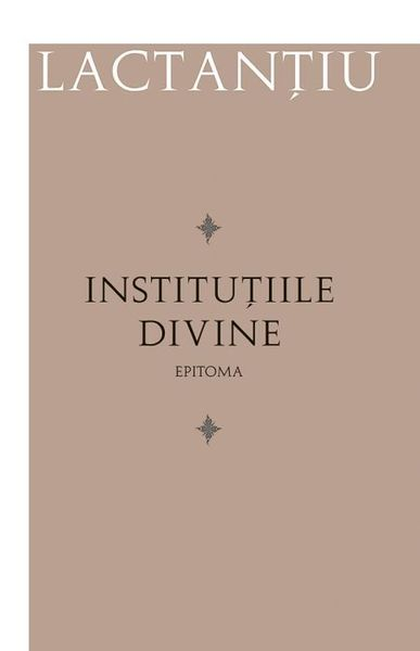 Institutiile divine. Epitoma