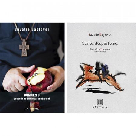Pachet Savatie Bastovoi: Cartea despre femei + Dumnezeu povestit pe intelesul unei femei