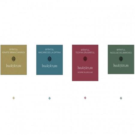 Pachet: Invataturi - Sf. Ignatie Briancianinov / Sf. Macarie de la Optina / Sf. Teofan Zăvorâtul / Sf. Nicolae Velimirovici