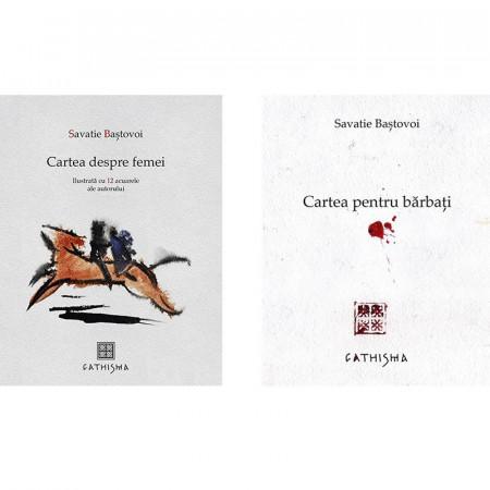Pachet Savatie Bastovoi: Cartea despre femei + Cartea pentru barbati