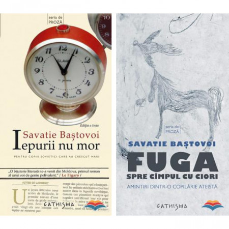 Pachet Savatie Bastovoi: Iepurii nu mor + Fuga spre campul cu ciori