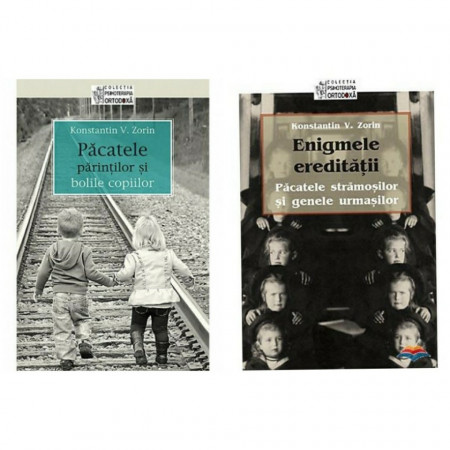 Pachet promotional: Păcatele părinților și bolile copiilor + Enigmele ereditatii. Pacatele stramosilor si genele urmasilor