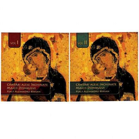 Pachet promotional 2 CD-uri - Cantari alese inchinate Maicii Domnului - Volumul 1 si 2