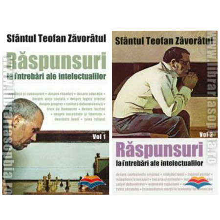 Pachet promotional - Raspunsuri la intrebari ale intelectualilor - Vol.1 si Vol.2