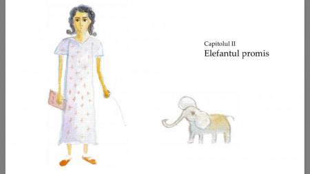 Fata cu elefant. Poveste de impacat indragostitii