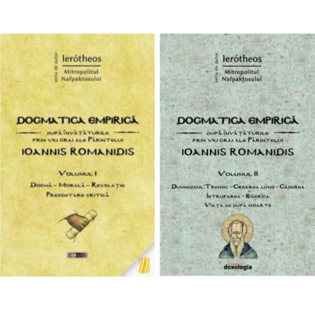 Pachet: Dogmatica empirica dupa invataturile prin viu grai ale Parintelui Ioannis Romanidis. Vol. 1+ 2