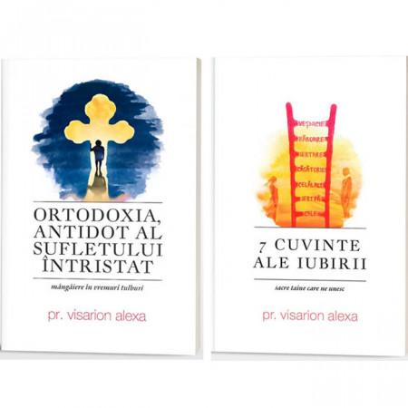 Pachet Visarion Alexa: Ortodoxia, antidot al sufletului intristat + 7 cuvinte ale iubirii