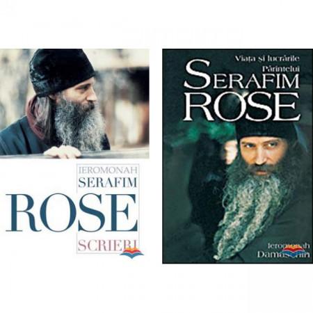 Pachet Serafim Rose: Viata si scrierile Parintelui Serafim Rose
