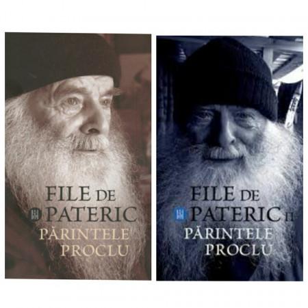 Pachet promotional - File de pateric - Parintele Proclu - 2 volume