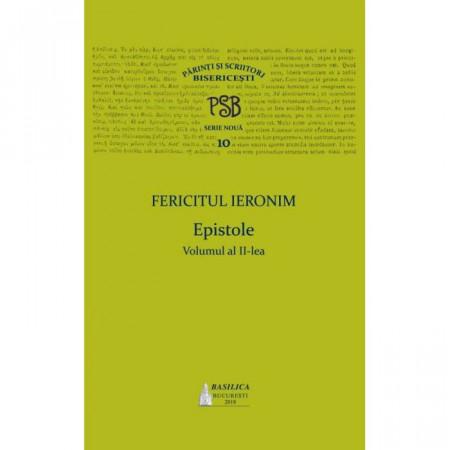 PSB 10 – Epistole- Fericitul Ieronim – Vol. 2