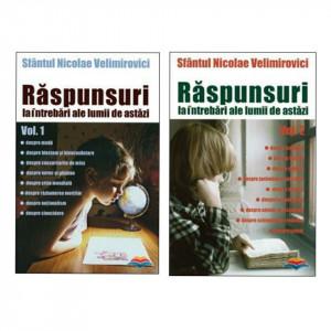 Pachet promotional - Raspunsuri la intrebari ale lumii de astazi volumele 1 si 2