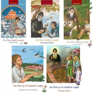 Pachet: Au fost si ei candva copii: Parintele Porfirie, Sfantul Nectarie, Sfantul Iacov Tsalikis, Cuviosul David, Cuviosul Paisie Aghioritul